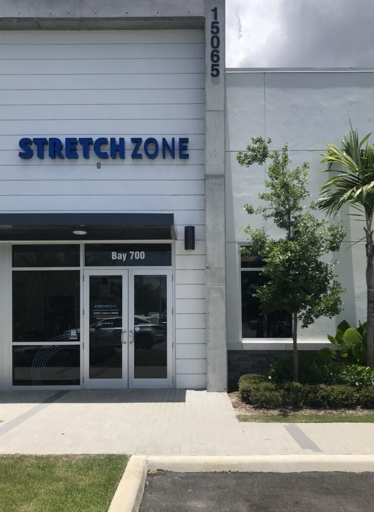 Delray Stretch Zone front of store