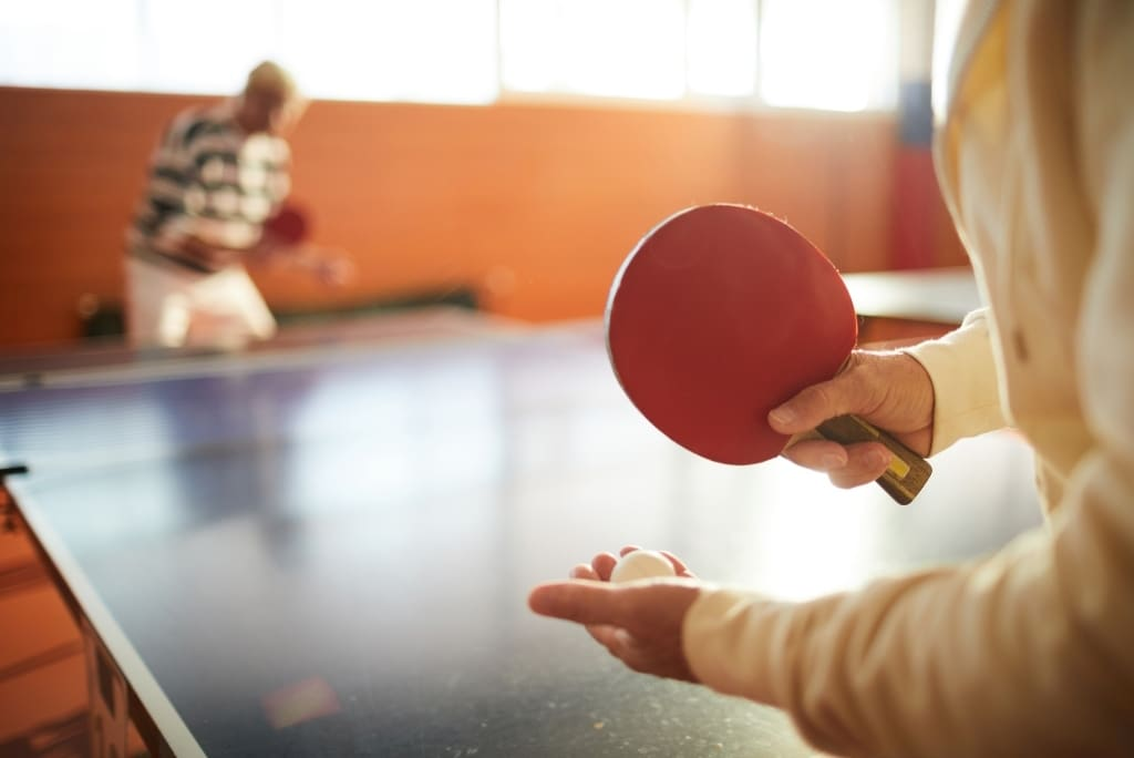 Should You Stretch for Table Tennis? Blog Cover